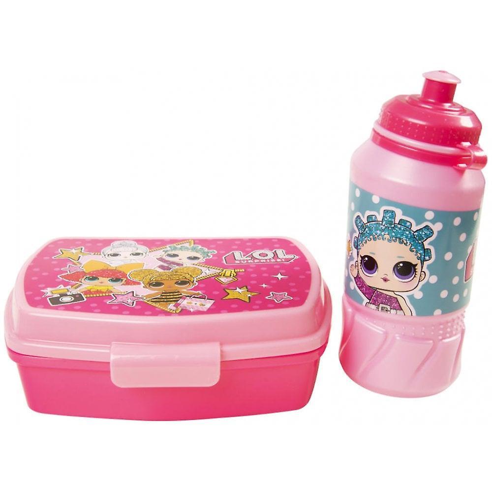 L. O. L överraskning! Lunch Box & vattenflaska set