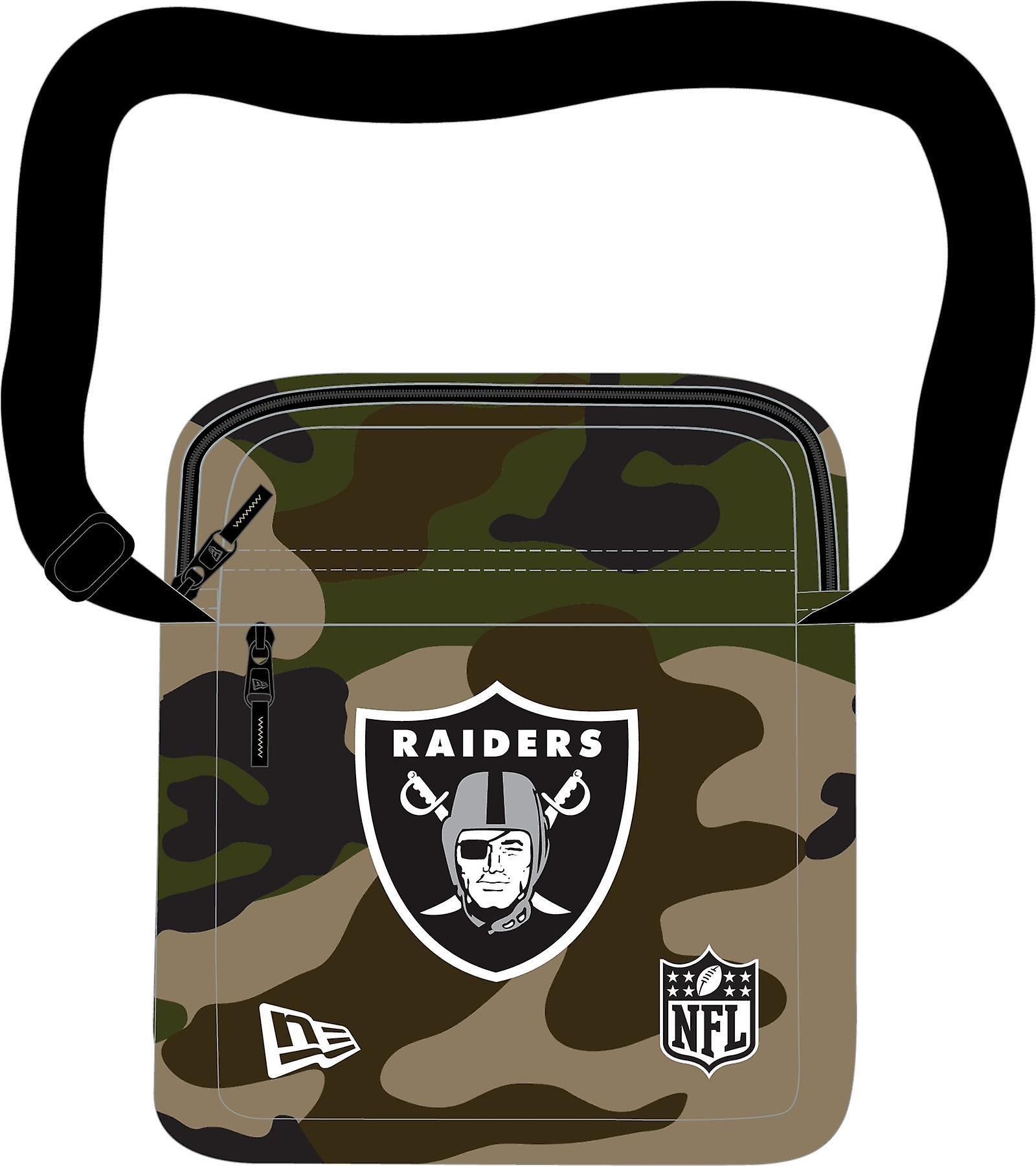 New Era NFL Side Bag ~ Oakland Raiders camo