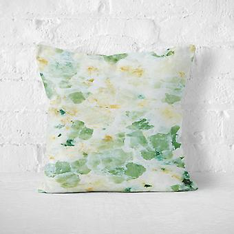 Meesoz Housses de Coussin - Green Yellow Marble