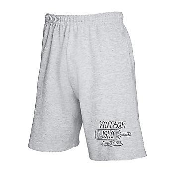 Pantaloncini tuta grigio gen0476 vintage 1050