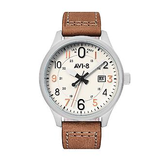 AVI-8 AV-4053-0A Hawker Hurricane White Dial Wristwatch