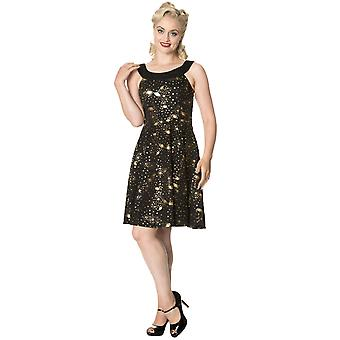 Banned Dancing Days Women-apos;s 1950-apos;s Galaxy Out of This World Dress (en)