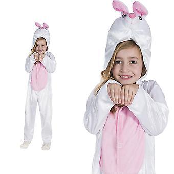 Bunny white Bunny Hunny Bunny child costume one piece Bunny Costume