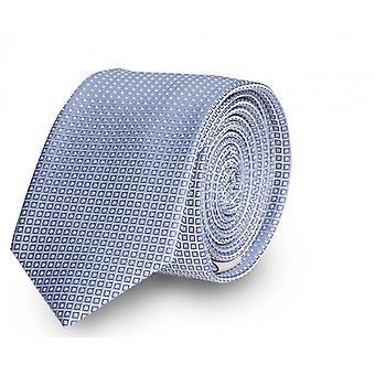 Cravatta cravatta cravatta cravatta stretta 6cm blu proiettato Fabio Farini