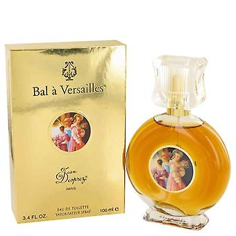 Bal a versailles eau de toilette spray by jean desprez 417305 100 ml