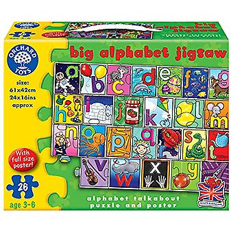 Orchard Toys große Alphabet Puzzle