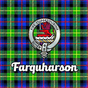 Art2Glass Tartan Clan Coaster - Ferguson