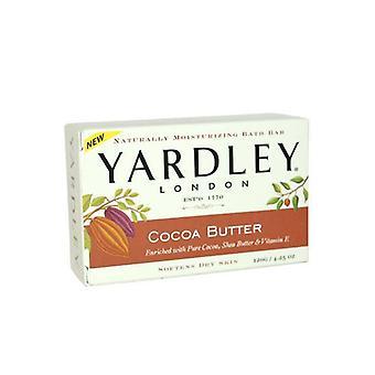 Yardley kaakao voita luonnollinen kosteuttava kylpy Baari 120g