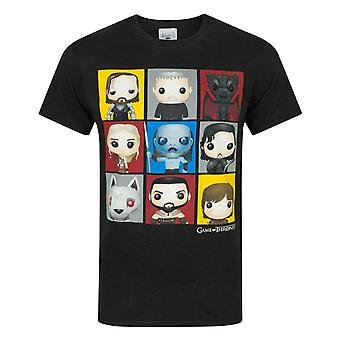 Game Of Thrones Funko Personnages Hommes-apos;s T-Shirt