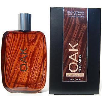 Bath & Body Works Oak For Men Cologne Spray 3.4 oz / 100 ml