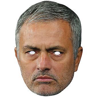 Jose Mourinho Football Celebrity 2D Single Card Party Fancy Dress Mask