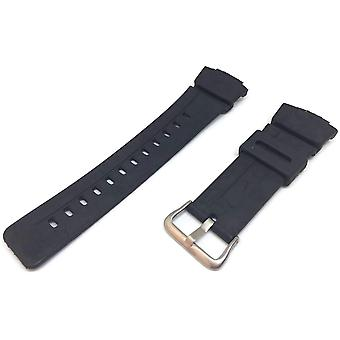 Watch strap made w&cp to fit casio g shock g101 with stainless steel buckle