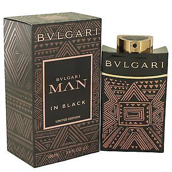 Bvlgari Man in zwarte essentie door Bvlgari Eau De Toilette Spray 3.4 oz/100 ml (mannen)