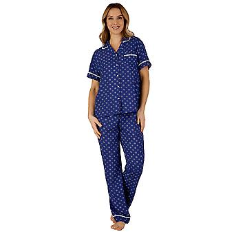 Slenderella GL3715 Women's Gaspe Floral Pajama Pyjama Set