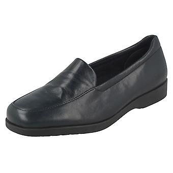 Ladies Clarks platt Loafer stil skor Georgien
