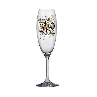 Simon Elvin Keepsakes 50th Champagne Flute