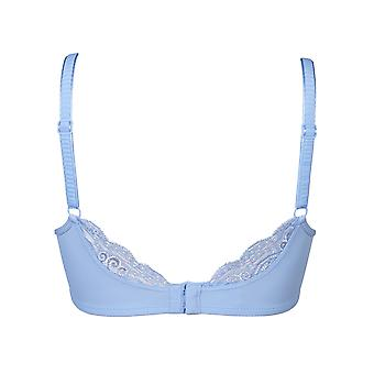 Après Eden D-Cup et Up 20.05.7566-071 Femmes-apos;s Flo Light Blue Lace Underwired Padded Bra