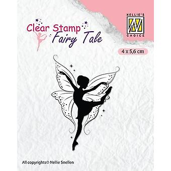 Nellie's Choice Clearstamp silhouette Fairy Tale Nr 13 FTCS013