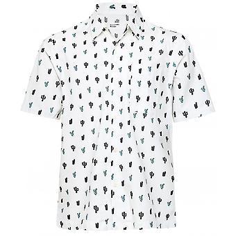 Universal Works Short Sleeve Cactus Road Shirt