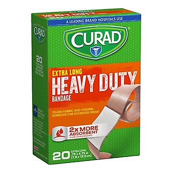 Curad extreme lengths bandages, 20 ea