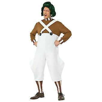 Oompa Loompa Deluxe Willy Wonka And the Chocolate Factory Book Week Men Costume