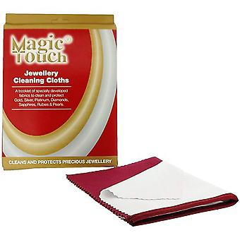 Magic Touch Jewellery Cleaning Cloths - Cleans & Protects Precious Jewellery