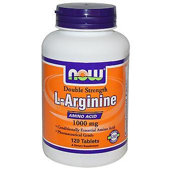 L-Arginin 1000 mg (120 Tabletten) - Jetzt Lebensmittel