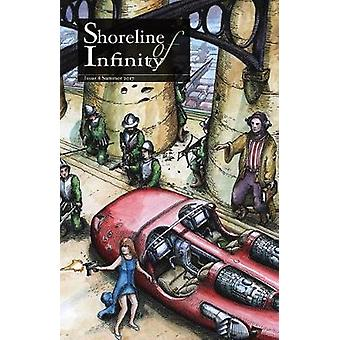 Shoreline of Infinity 8 Science Fiction Magazine by Chidwick & Noel