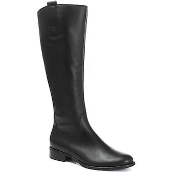 Gabor Womens Brook Leather Rider Boot