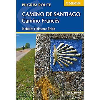 Camino de Santiago - Camino Frances - Guide and map book - includes Fin