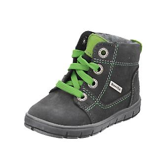 Judge's boots kids boys boots grey lace-up boots Winter