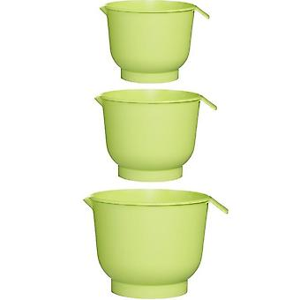 Gastromax Mixa Line Pipe Bowl Sæt 1,5+2+3 L