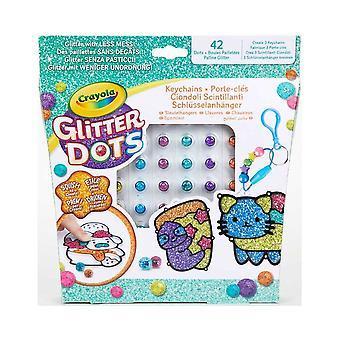 Crayola Glitter Dots Keychain Friends