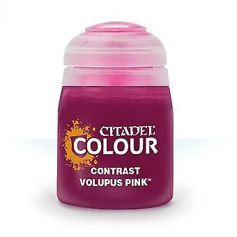 Contrast: Volupus Pink (18ml), Citadel Paint Contrast, Warhammer 40,000