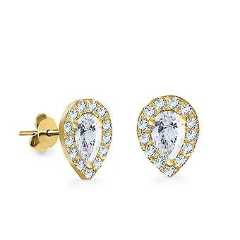 Earrings France 18K Gold and Diamonds - Yellow Gold