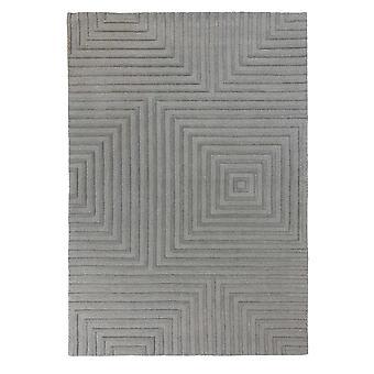 Porto Estela moderne wollen tapijten in grijs