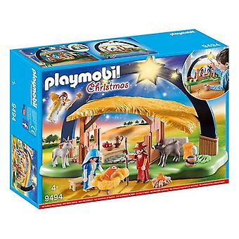 Jul julkrubba set Playmobil 9494