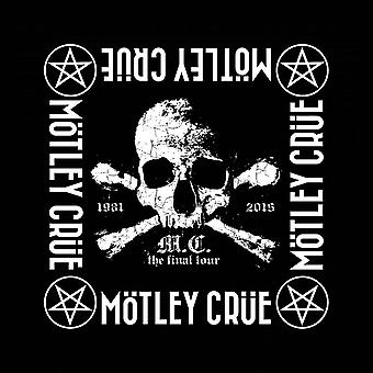 Motley Crue Bandana The Final Tour Band Logo new Official Black