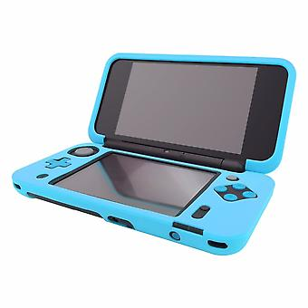 Blue Silicone Cover Rubber Gel Skin Case for Nintendo 2DS XL