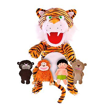 Fiesta Crafts The Jungle Book Hand & Finger Puppet Set