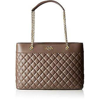 الحب موسكينو حقيبة مبطن نابا بو - رمادي حقائب حمل المرأة (تاوب) 12x26x39 سم (B x H T)