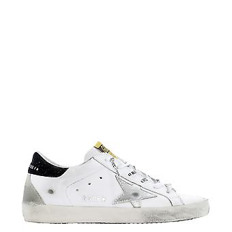 Golden Goose Gwf00102f00023310250 Women's White Leather Sneakers