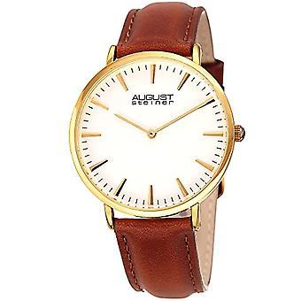 August Steiner Clock Woman Ref. AS8247YGBR function