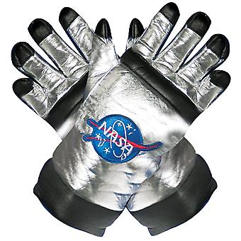 Asttonaut Gloves Child Silver