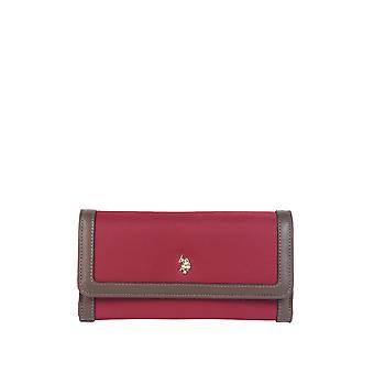 U.S. Polo Assn. Women-apos;s Wallet -Brown 19Cm
