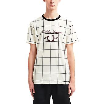 Fred Perry Men's Archive Embroidered T- Shirt