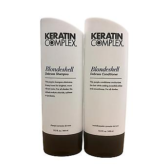Keratin Complex Blondeshell Shampoo & Conditioner 13.5 OZ Set