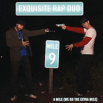 Exquisite Rap Duo - 9 Mile (We Go the Extra Mile) [CD] USA import