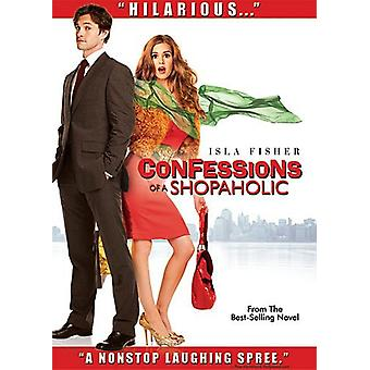Confessions of a Shopaholic [DVD] USA import