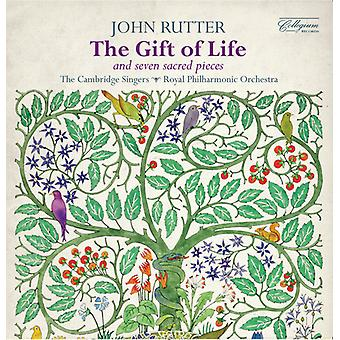 Rutter / Cambridge Singers / Gribbin - Gift of Life - Seven Sacred Pieces [CD] USA import